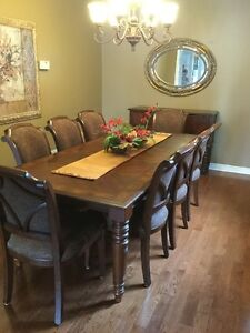 Dining Room Table /chairs/buffet