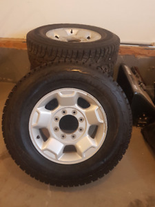 F250/350 winter tires and alloy wheels