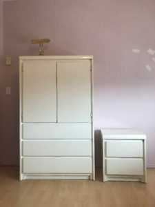 WHITE FURNITURE\ Meuble Blanc