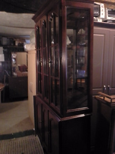 2  china cabinets  $160. each