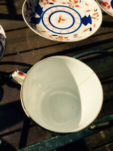 Six sets of old small teacups and saucers Kingston Kingston Area image 6