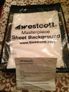 Westcott Masterpiece Muslin Sheet Background for Photography