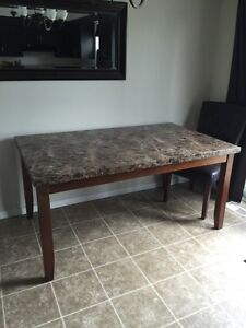 6 person dining table and chairs Cambridge Kitchener Area image 1