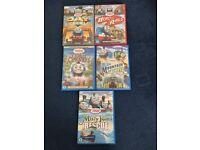 Thomas the tank engine films on DVD