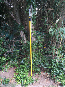 Extendable tree trimmer / pruner