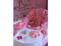 Graco girls foldable baby walker