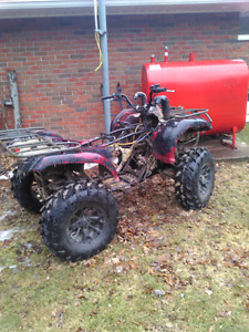 2006 Yamaha grizzly 660 for parts or rebuild