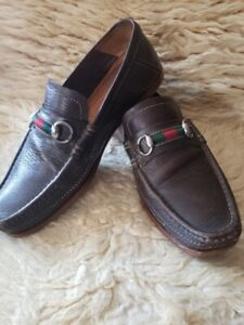 Gucci slip-on loafers driving shoes size 8.5