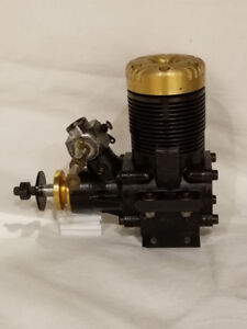 HP Hirtenberger Gold Cup .61 with Webra carb rc plane engine