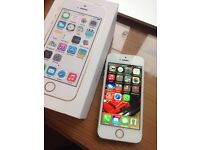 Apple iPhone 5S 64GB white/Gold Unlocked so takes any sim