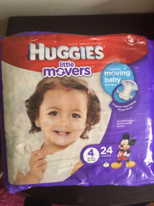 Huggies Diapers Size 4 (New)