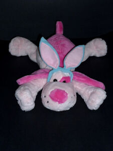 Pink Blue Dog stuffy .. Clean,SmokeFree,Like NEW Cambridge Kitchener Area image 2