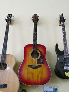 Acoustic Vester Guitar For Sale At Nearly New Port Hope