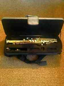 Saxophone Soprano with case [NEGO)
