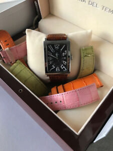 OFFICINA DE TEMPO VINTAGE WATCH + 3 MORE STRAPS + BOX