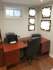 High Quality Office Furniture, EUC - 3 pieces