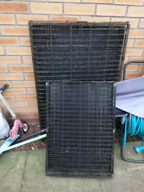 Dog Cages (Medium and Large) SOLD