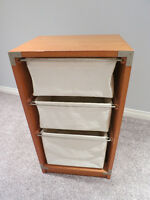 Pier One Impots 3 drawer unit- $40 OBO
