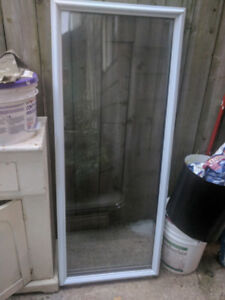 Clear Glass Exterior Door Insert