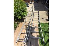 Window cleaning ladder 14 runs medium size ladder ideal for any size house