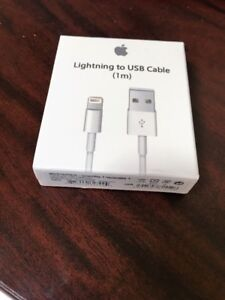 B/N Apple USB 8 Pin Lightning Cable for iPhone, iPad & iPod