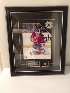 Framed Martin Brodeur Print Kingston Kingston Area image 3