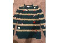 Ladies next Christmas jumper size 14