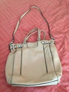 Leather Banana Republic bag for sale
