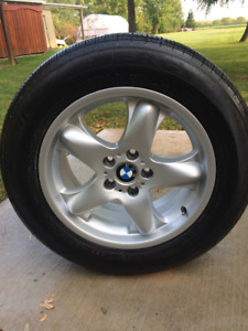 "18"" bmw suv tire and rims"