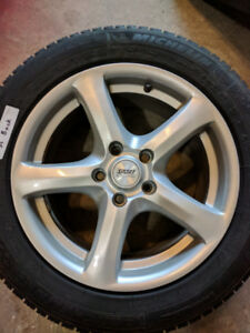 Set of 4 Winter Tires - Michelin X-Ice XI3 215/55R16 (NO RIMS)