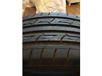 3 x Very Good Part Worn Tyres 215 45 18