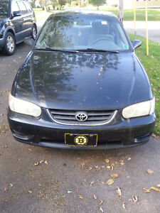 2002 Toyota Corolla CE FOR SALE GREAT ENGINE, GOOD TIRES