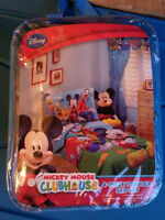 4 Pcs Mickey Mouse Toddler Bed Set (New)