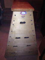 Excellent Condition Vaulting Boxes -  4 TIers interlock togethe