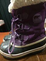 Size 1 Sorel Winter Boots