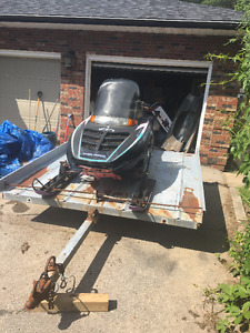 Great Package Deal- Polaris Indy 500 + Aluminum trailer
