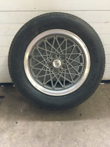 '86 Fiero Tires and Rims