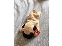 Beanie babies collectors with tags