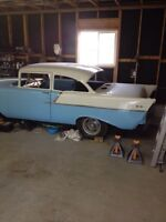 1957 chev 2dr project