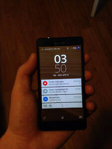 SONY XPERIA Z3 BROKEN SCREEN AND IPHONE 5C WITH CRACKED SCREEN
