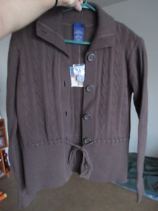 Cardigan with tie detail at the waist