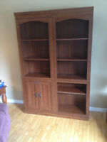 Adjoining Bookcases