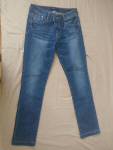 Variety of European brand jeans