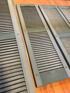 14 Exterior Shutters (4 sizes)