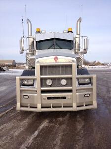 2012 Kenworth with 2014 Camex Semi Vac Trailer Edmonton Edmonton Area image 5