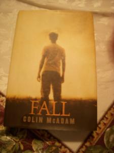 Fall by Colin McAdam, Hardcover book