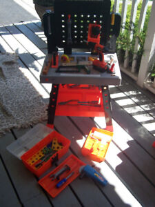 Kids Black & Decker Power N' Play Workbench and more.......