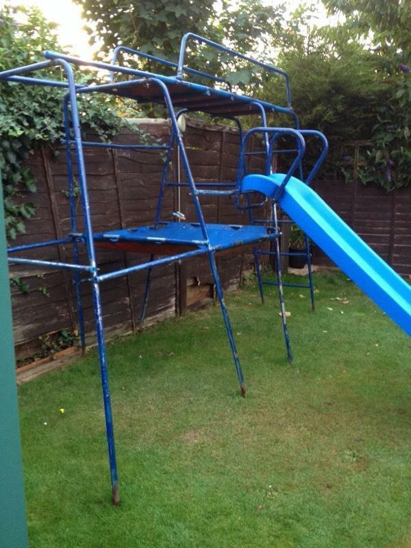 Tp challenger climbing frame with slide | in Fareham ...