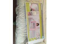 Pink baby bed guard brand new