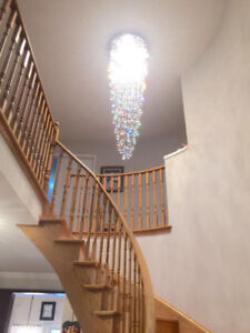 Large Long Chandeliers For Sale !